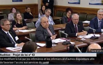 La FMOQ sur le projet de loi n°43