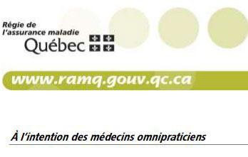 Infolettre 077 de la RAMQ : Précisions de la FMOQ
