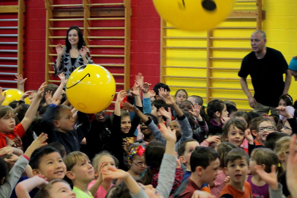 École Notre-Dame des Victoires dans l'est de Montréal