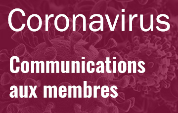 Communications aux membres